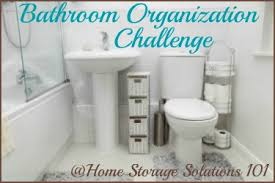 organizing bathroom ideas bathroom organization challenge step by step