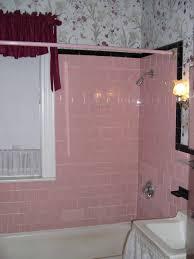 bathroom black bathroom curtains 1960 u0027s style bathrooms pink