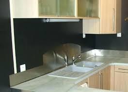 plaque aluminium pour cuisine plaque inox pour cuisine leroy merlin banau tole artisan