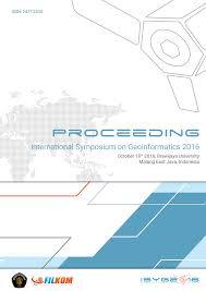 Proceeding ISyG 2016