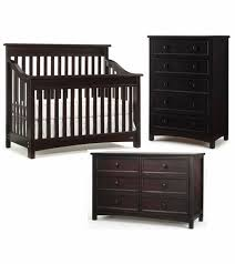 bonavita peyton lifestyle 3 piece nursery set in espresso