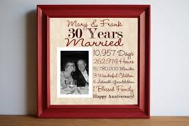 30th anniversary gifts for parents 30th wedding anniversary gifts for parents wedding gifts wedding