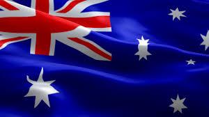australia flag waving animated hd australia flag waving