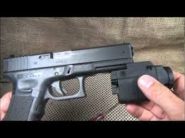 laser light combo for glock 22 glock tactical light gtl 10 review youtube