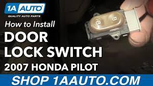 honda pilot parts 2007 how to install replace front door lock switch 2007 honda pilot buy