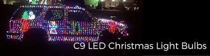 c9 christmas light strings led light bulbs