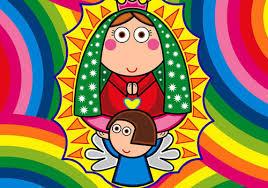 imagenes de virgen maria infantiles la virgen maria en los cinco continentes monaguillos de la