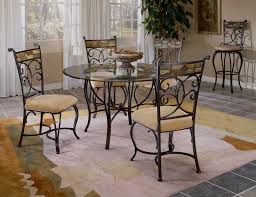 Round Glass Dining Table And Chairs New Dining Room Table Sets For - Round glass kitchen table sets