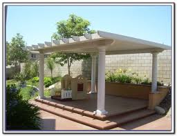 Patio Cover Plans Free Standing by Free Standing Wood Patio Cover Kits Patios Home Decorating