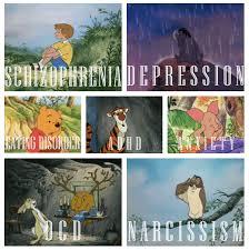 winnie pooh mental disorders dsm lol