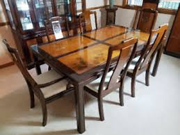 Asian Dining Room Sets Universal Furniture Rosewood Inlaid Carving Asian Dining Table