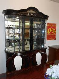 italian lacquer buffet hutch arienne dining room set promo