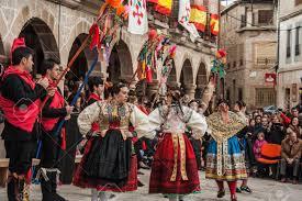 traditional celebrations carnaval de animas valdeverdeja toledo