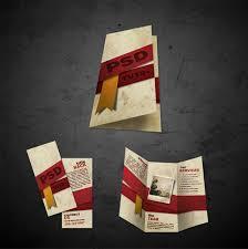 15 free brochure design psd templates download