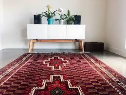 Checkerboard Area Rug 5x8 U0027 Vintage Persian Rug Bedroom Rug Area Rug Living Room Rug