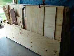Mobile Lumber Storage Rack Plans by Thoughts On Plywood Panel Storage Mobile Cart Woodworking Talk