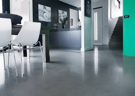 kitchen floor white acrylic dining chairs light gray cabinets