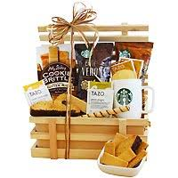 coffee gift basket ideas starbucks gift baskets free shipping starbucks coffee gift
