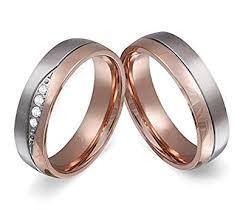 verlobungsringe rotgold adomio ringe 2 trauringe verlobungsringe edelstahl rosegold