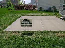 walkers concrete llc concrete contractor driveways patios