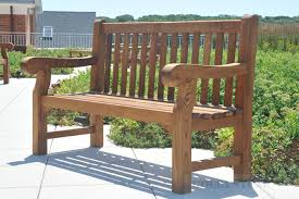 Vineyard Bench Teak Hyde Park Bench At Martha U0027s Vineyard Hospital Customer
