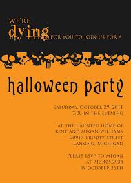 doc 600400 halloween party invites wording u2013 halloween party
