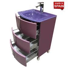 24 Inch Bathroom Vanities by 24 Inch Crom Socimobel Bathroom Vanity Color Matt Mauve