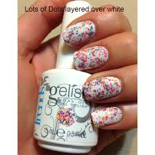 nail harmony gelish lots of dots nail harmony from tailormade