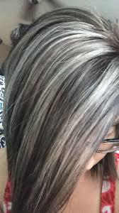 highlights to hide greyhair hair color to hide grey best hair color for dark skin women