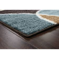 Brown And Turquoise Area Rugs Better Homes And Gardens Geo Waves Area Rug Or Runner Walmart Com