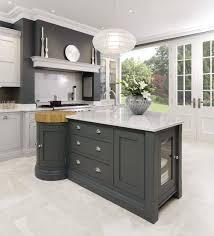 white granite floor bright grey paint wall white fabric round