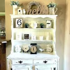 hutch kitchen furniture white buffet and hutch iammizgin com