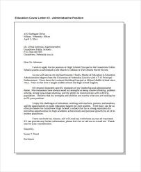 cover letter for administrative assistant cover letter sample for