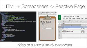 Applications Of Spreadsheets Spreadsheet Driven Web Applications Youtube