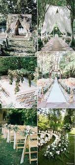 Garden Wedding Ceremony Ideas 25 Brilliant Garden Wedding Decoration Ideas For 2018 Trends
