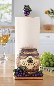 themed paper towel holder vineyard kitchen paper towel holder a brand new home