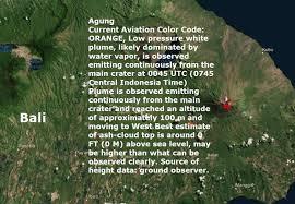earthquake bali 2017 earthquake prediction mount agung volcano on the indonesian island