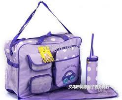 baby nursery decor purple diaper nursery bags for baby plastic