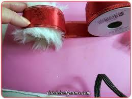 santa belt ribbon santa belt napkin ringscreatively sam s