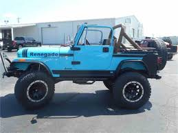 turquoise jeep cj 1980 jeep cj7 for sale classiccars com cc 994041