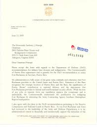 letter from governor anibal acevedo vila to chairman anthony j