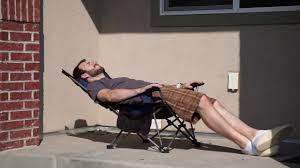 Coleman Reclining Camp Chair Light Weight Backpacking Reclining Lounging Camping Folding Chair
