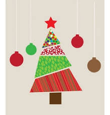 doodles christmas greeting card royalty free vector image