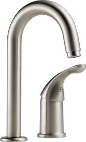 Delta Savile Stainless 1 Handle Pull Down Kitchen Faucet by Delta 1903 Ss Dst Classic Single Handle Bar Prep Faucet Stainless