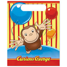 curious george 1st birthday supplies