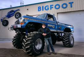 bigfoot monster truck show bigfoot migrates west leaving hazelwood without landmark metro
