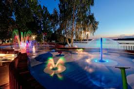 led fountain lights underwater gnh uw 12 3w led fountain light rgb led pool lightrgb led fountain