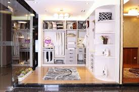 Fabulous Nuance Closets U0026 Storages Charming Luxurious Walk In Closet With White