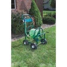 Hose Reel Solution For Yard And Garden Outdoor Faucet Extension Best Garden 4 Wheel Metal Portable Hose Reel Tc4703n Do It Best