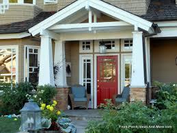 craftsman style porch porches of newport beach california